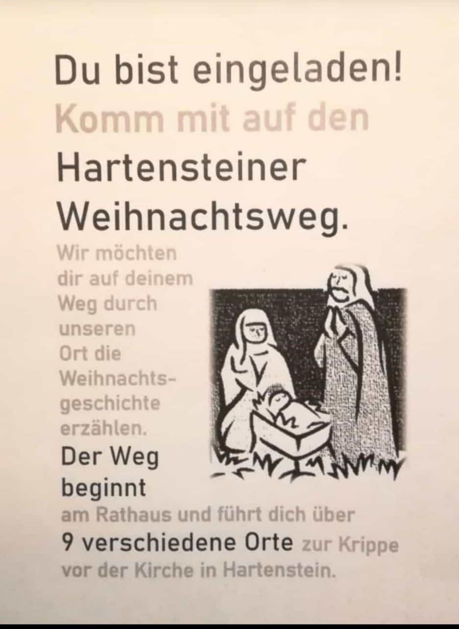 Hartensteiner Weihnachtsweg