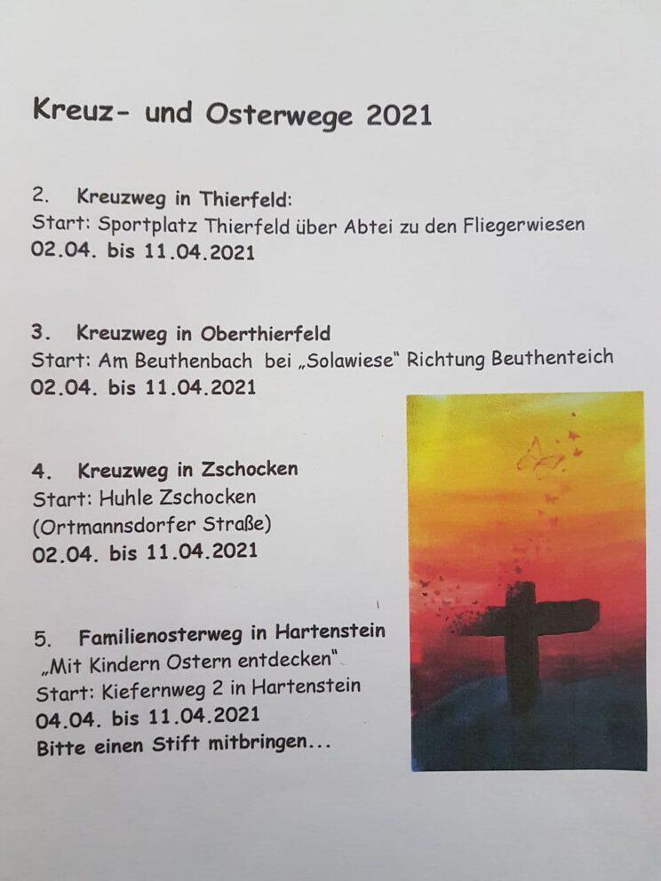 Kreuz- und Osterwege 2021